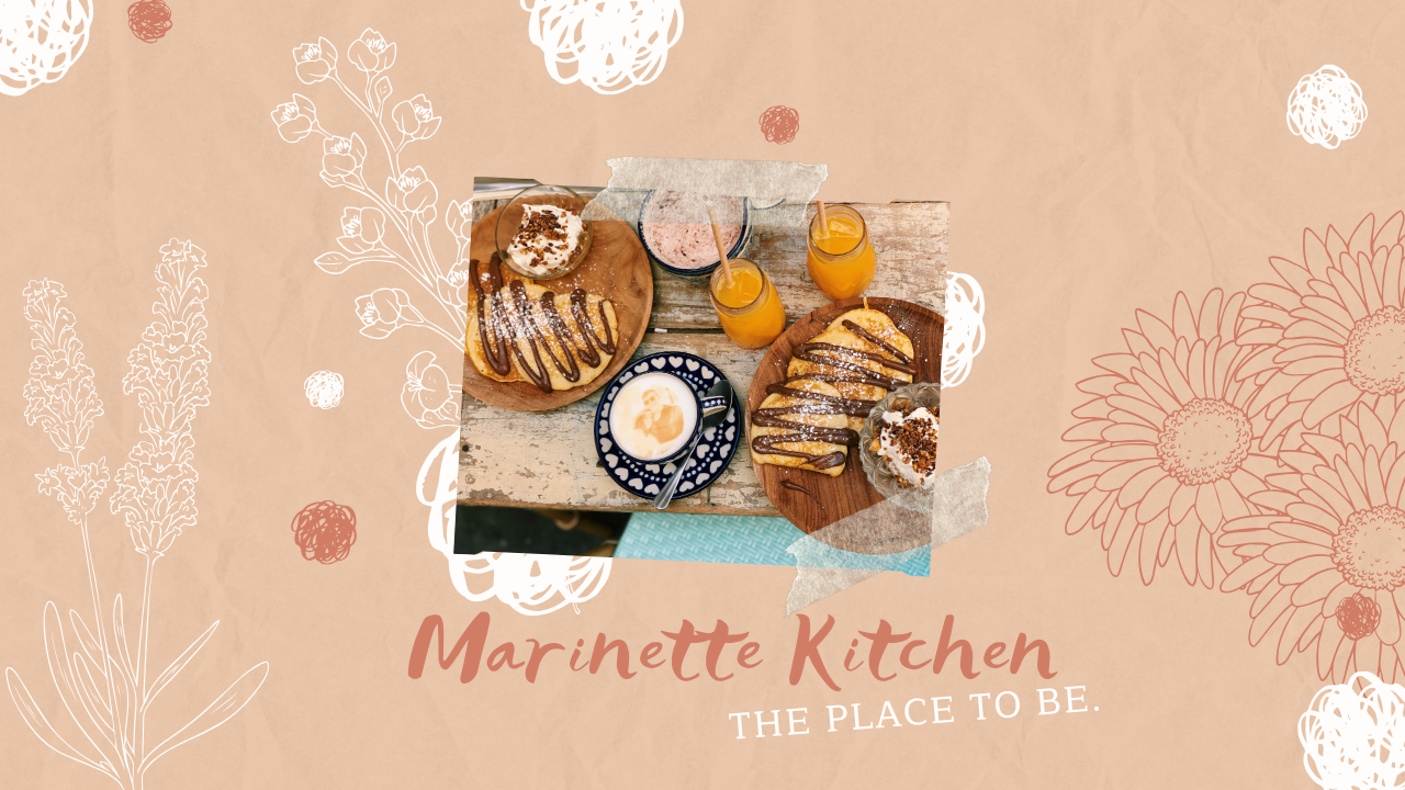 MARINETTE KITCHEN – The place to be