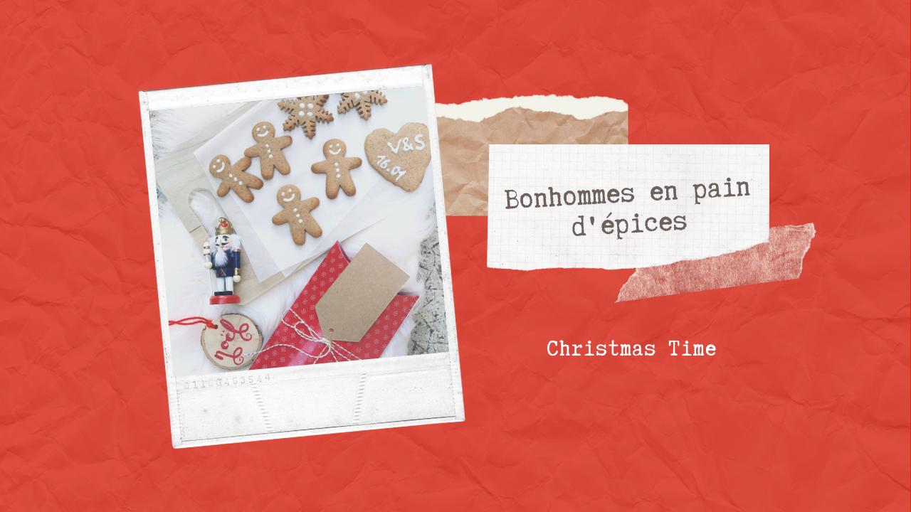 EN CUISINE – Bonhommes en pain d'épices