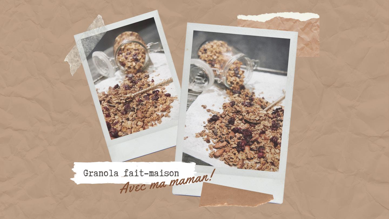EN CUISINE – On prépare du Granola !